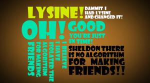 The Friendship Algorithm Typography